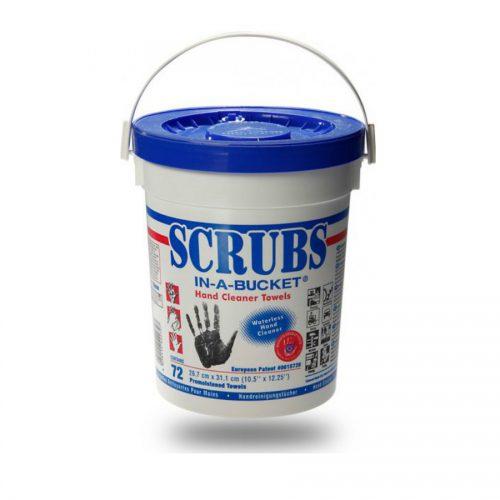 scrubs in a bucket