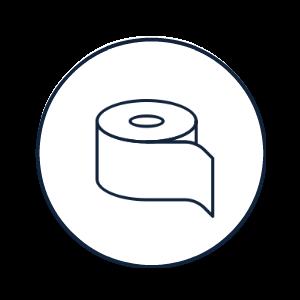 Midi- & maxi-toiletrollen